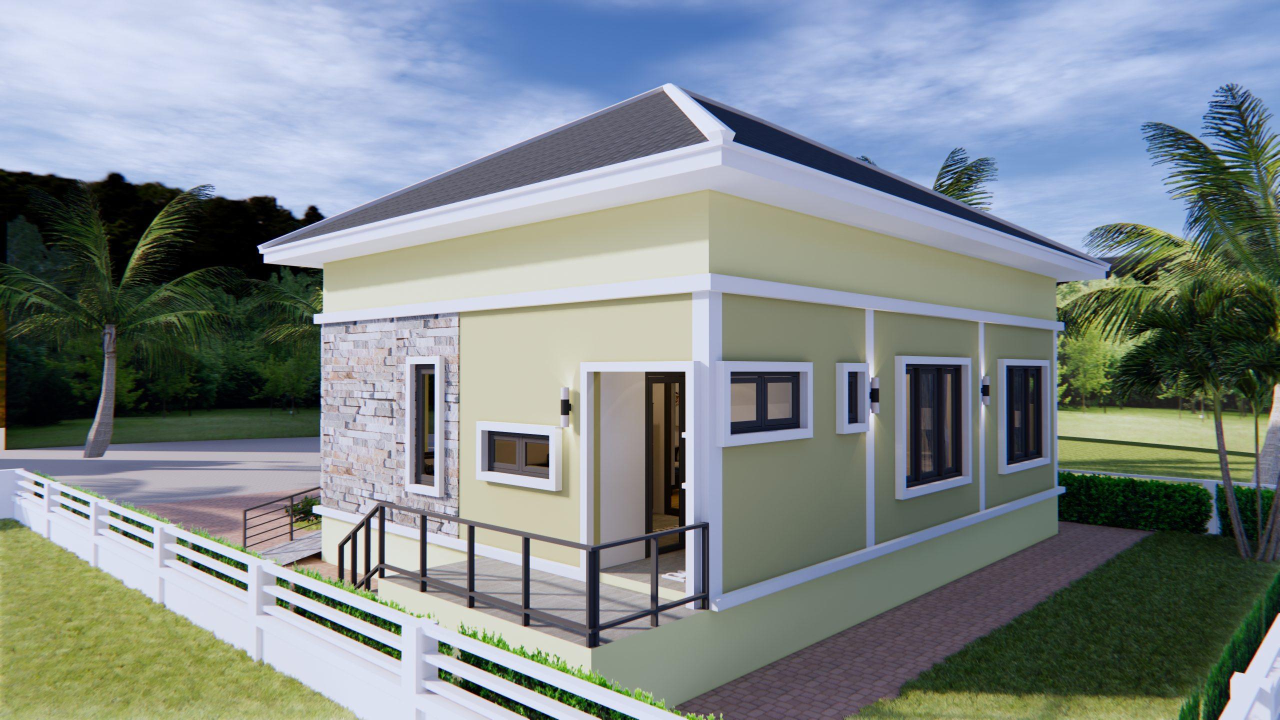 3 Bedroom House Plans 10x10 Meter 33x33 Feet 6