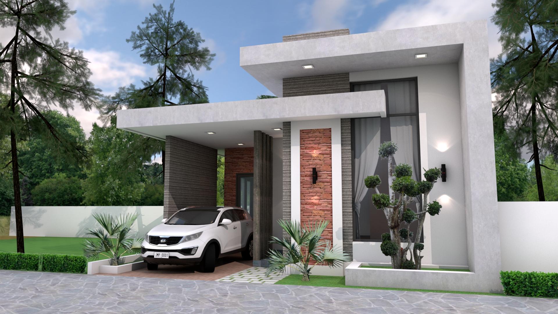 Best Small House Designs 8x10 Meter 26x33 Feet 3