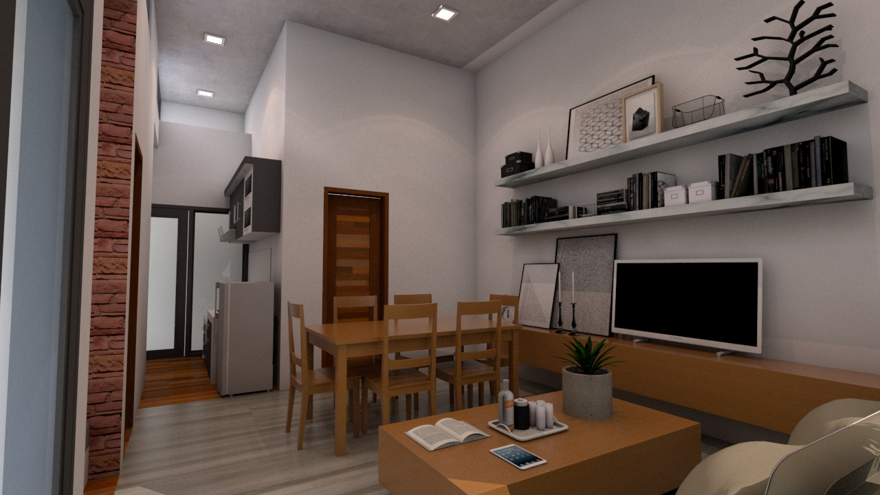 Best Small House Designs 8x10 Meter 26x33 Feet living room