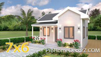 Best Tiny Houses 7x6 Cross Gable Roof