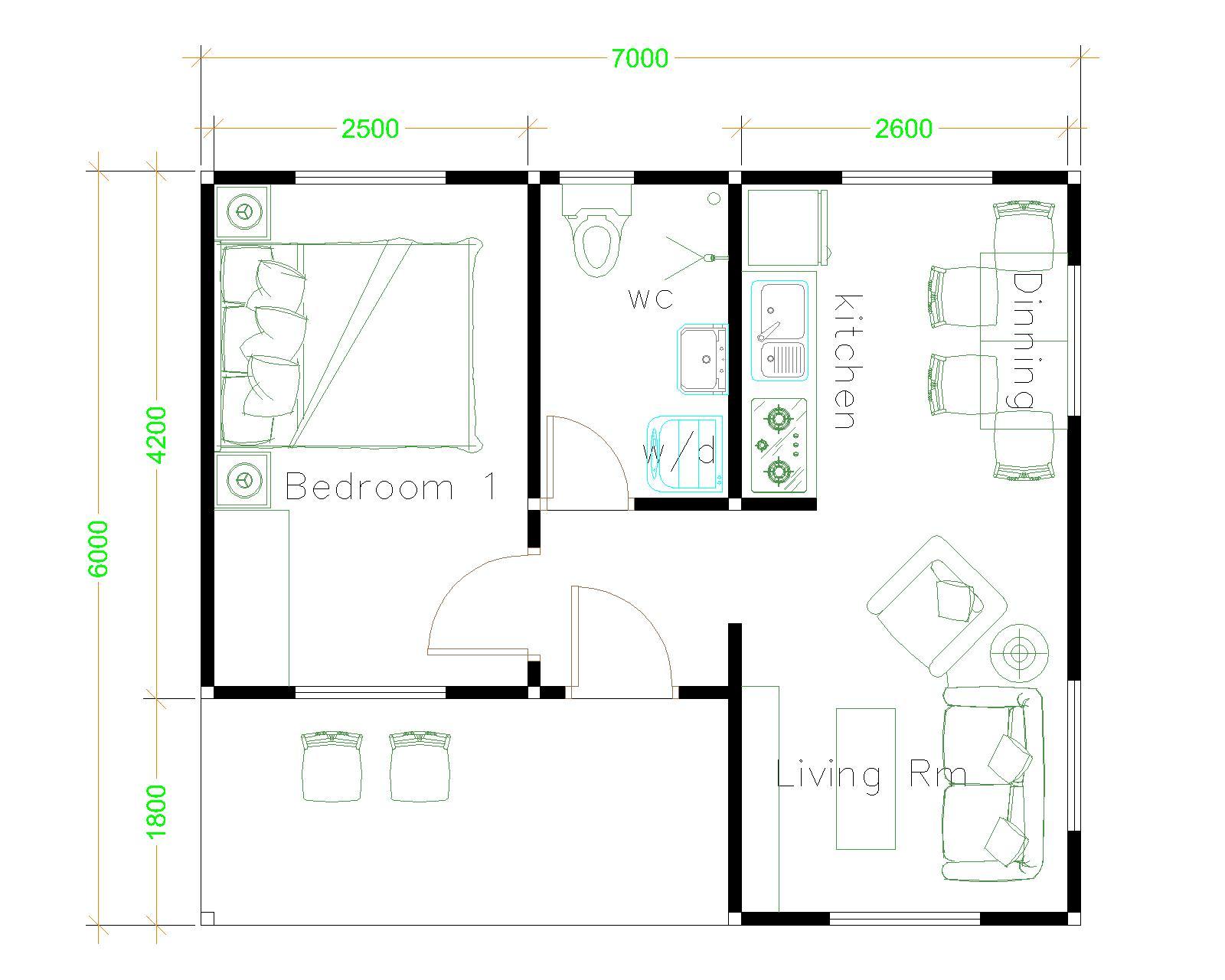 Flat Roof Floor Plans