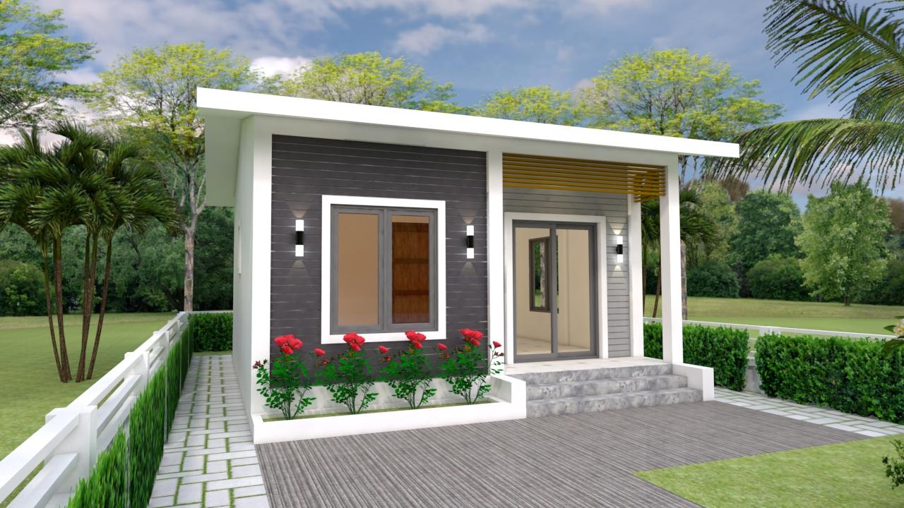 Custom Tiny Homes 6x7 Meter 20x23 Feet 2 Beds 1
