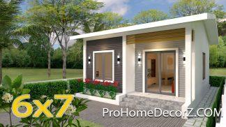Custom Tiny Homes 6x7 Meter 20x23 Feet 2 Beds