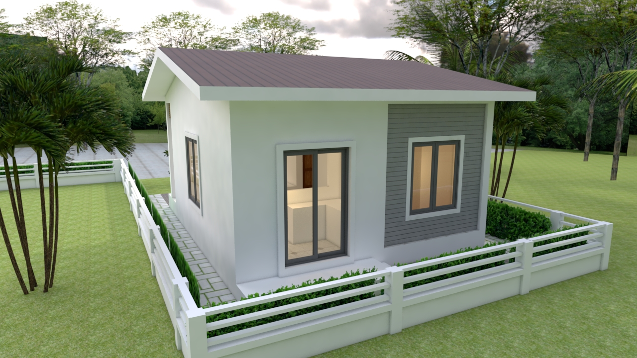 Custom Tiny Homes 6x7 Meter 20x23 Feet 2 Beds 4