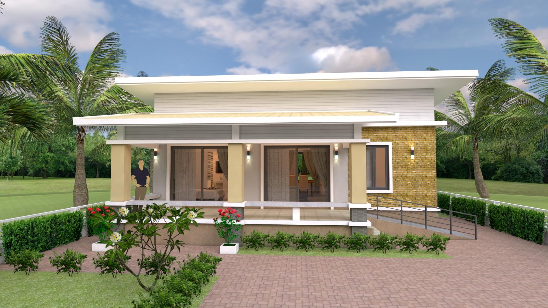 Home Design Plans 10x10 Meter 33x33 Feet 2