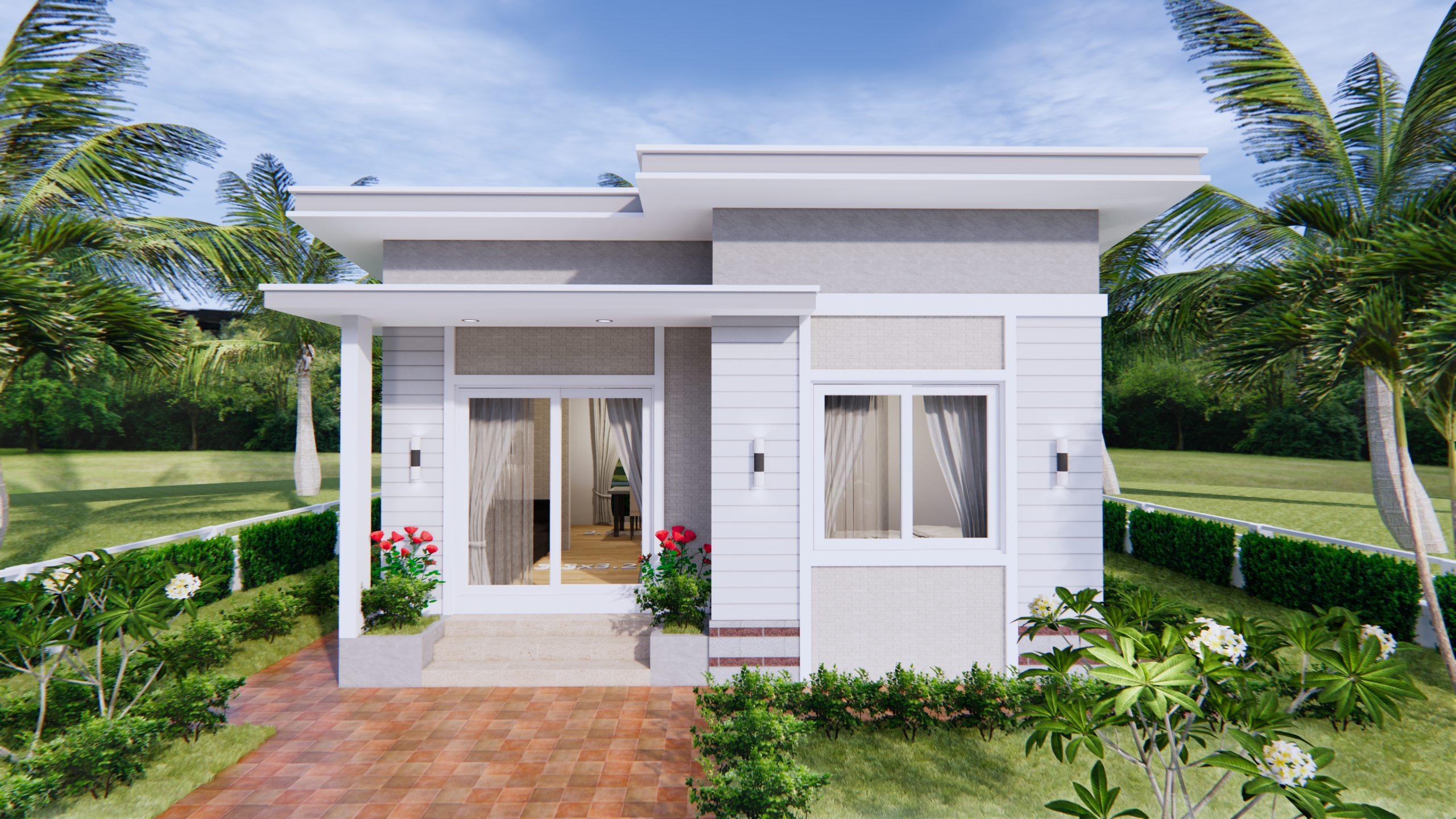 Modern Tiny Homes 7x7 Meters 24x24 Feet 2