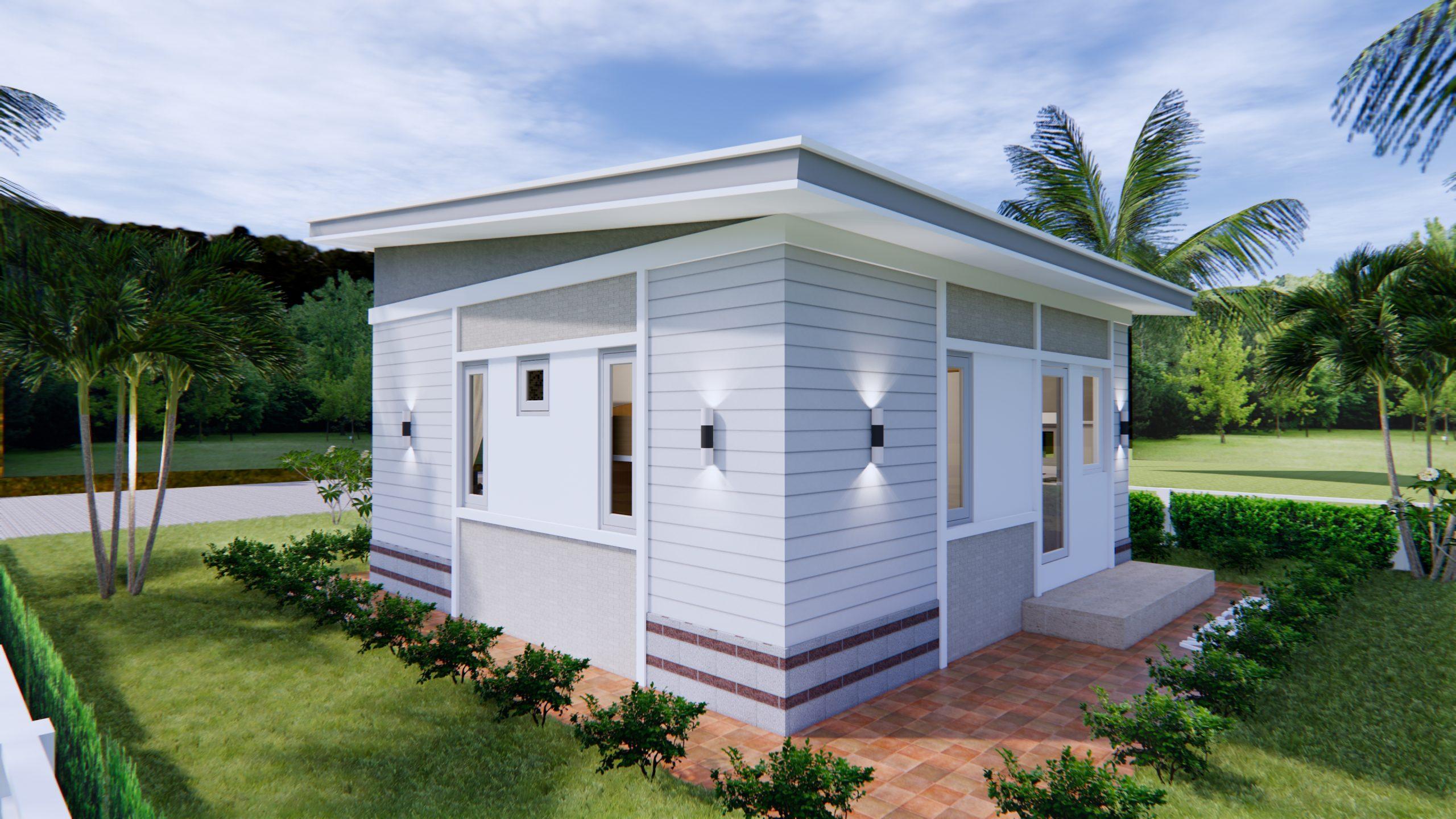 Modern Tiny Homes 7x7 Meters 24x24 Feet 4
