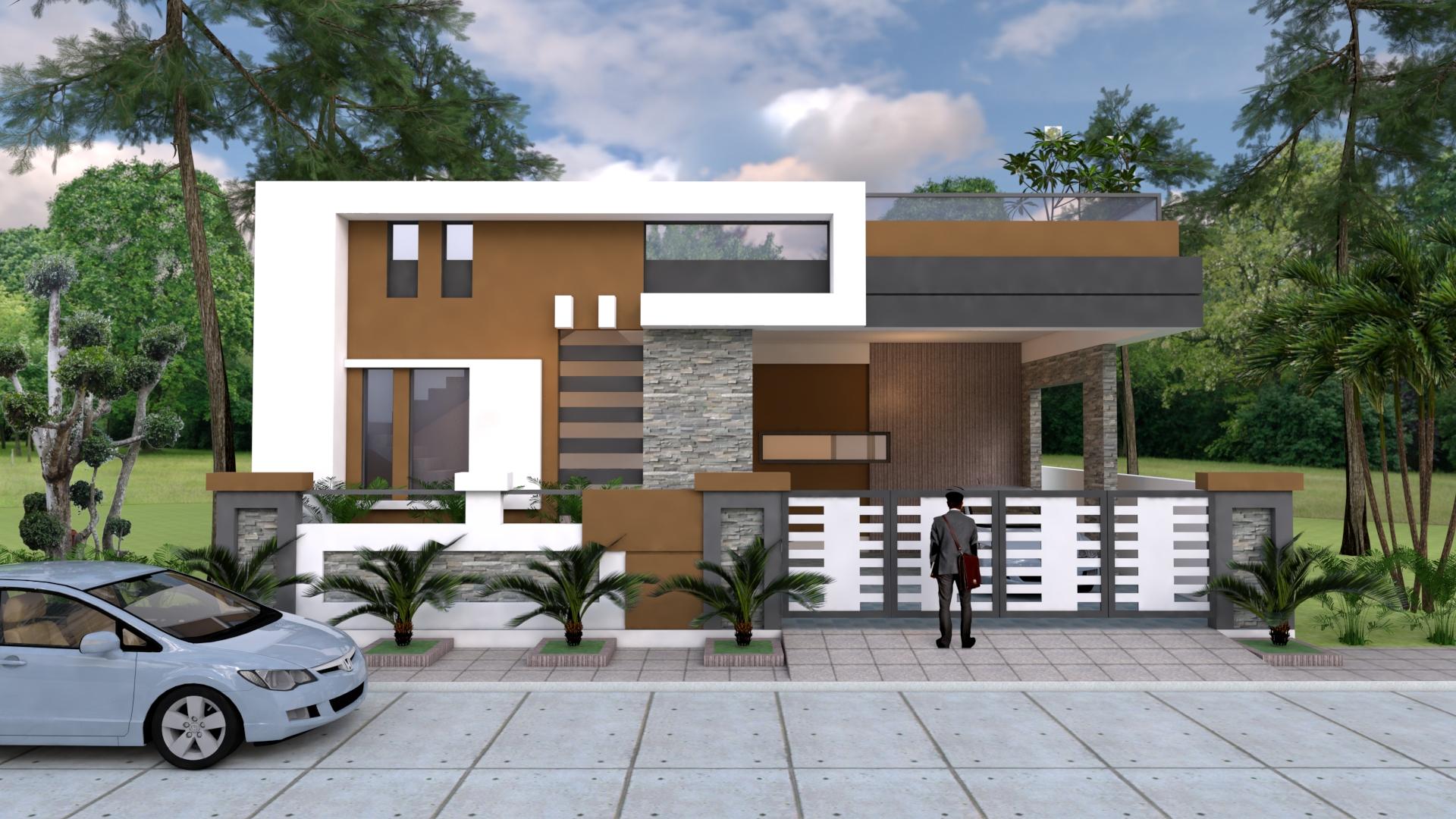Front elevation Plan