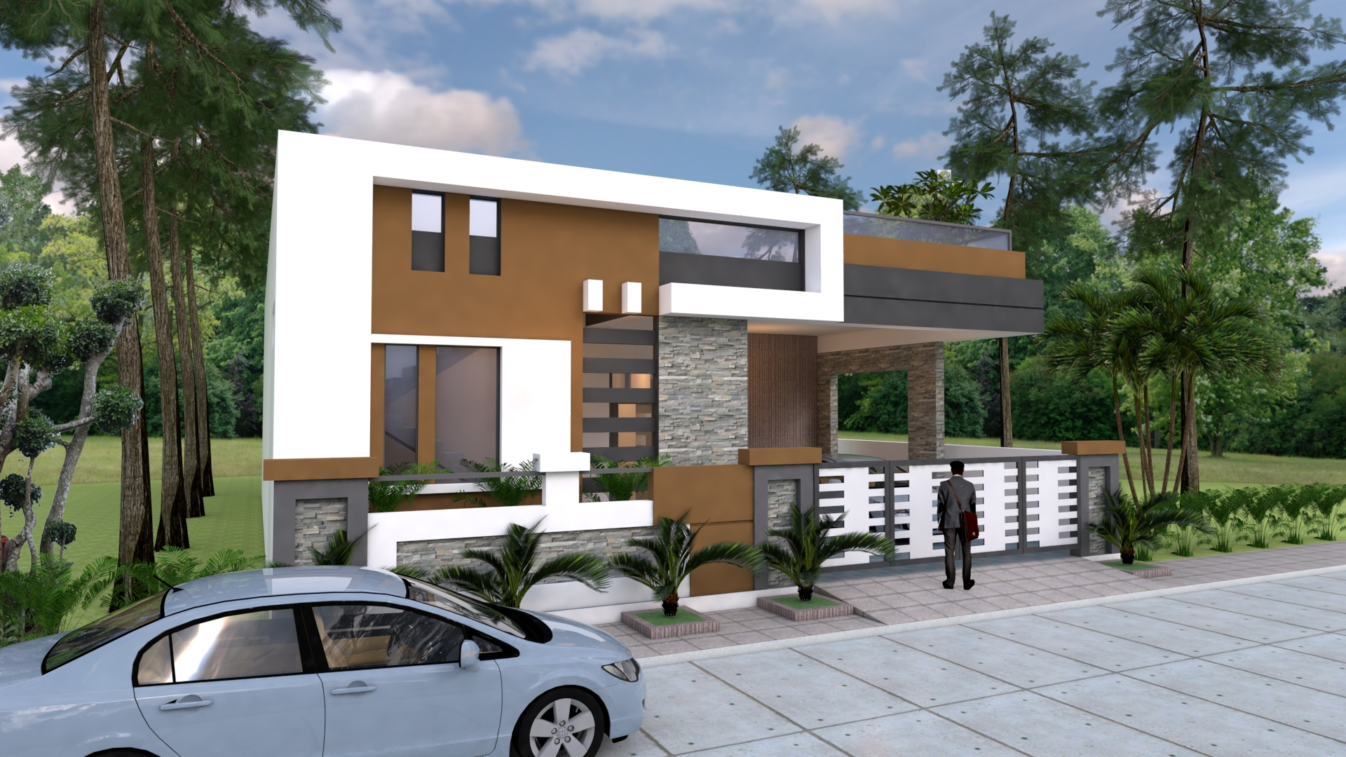 House Elevation 3d