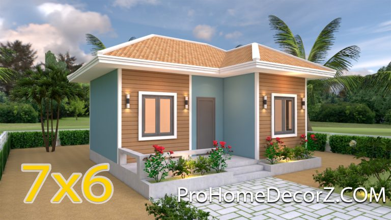 Simple House Designs 7x6 Hip Roof