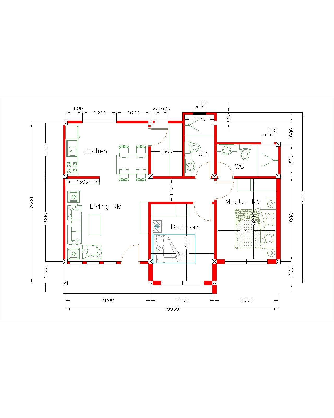 House layout floor plan
