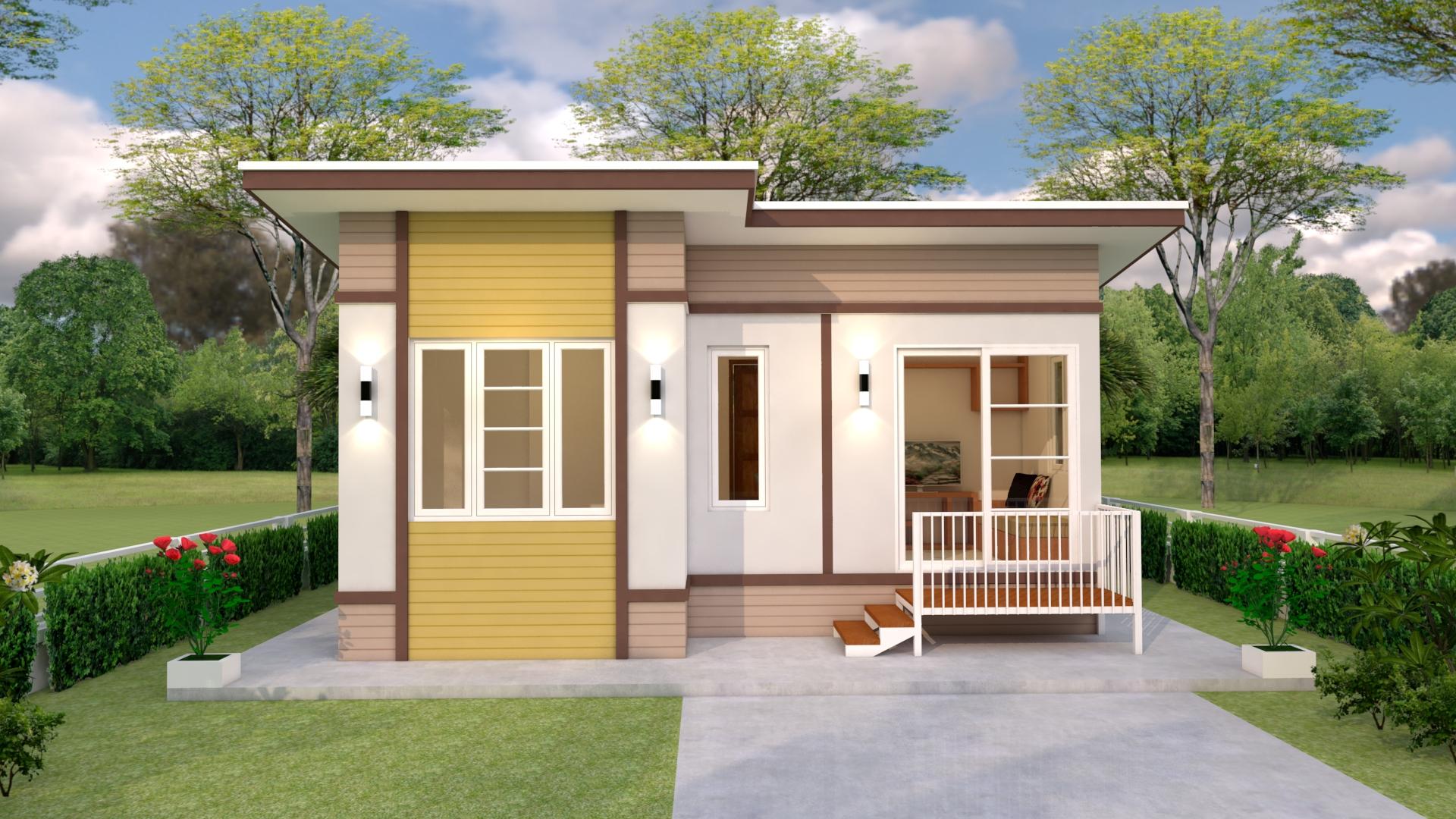 Small Budget House 7x6 Meter 23x20 Feet 2