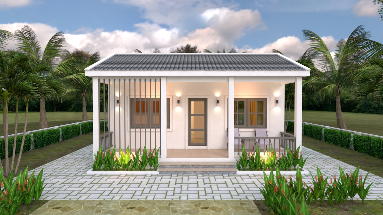 Front Elevation House Plan