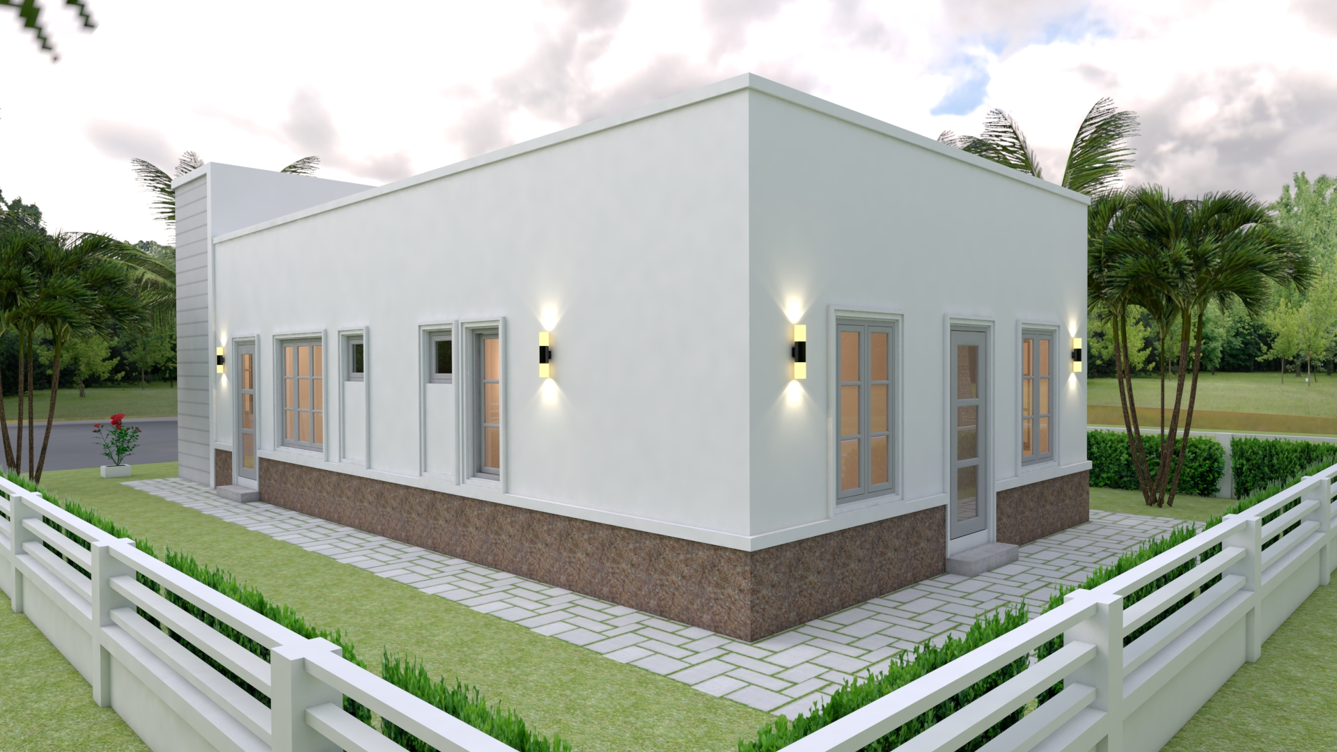 Small Custom Homes 7x14 Meter 23x46 3 Beds 4