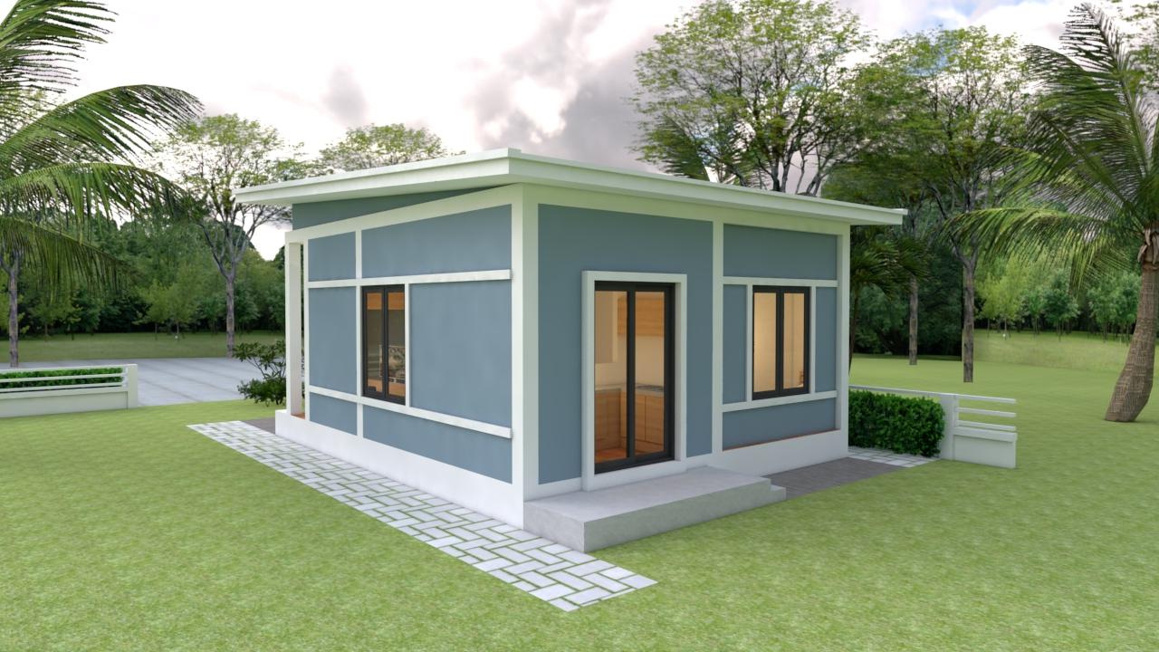 Small Modern Homes 6x7 Meter 20x23 Feet 2 Bedrooms 3