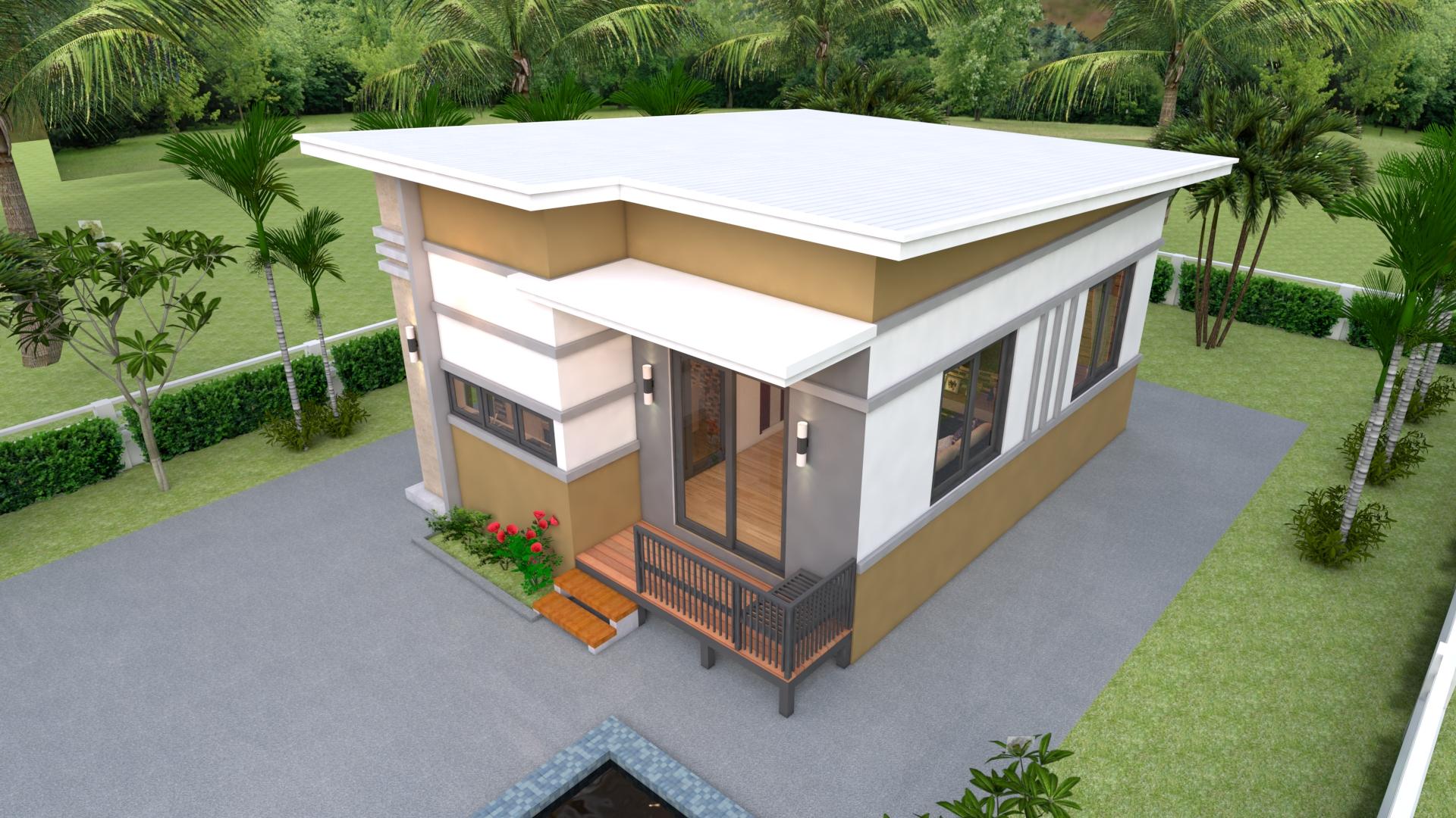Small Modular Homes 6x8 Meter 20x26 Feet 2 Beds 1