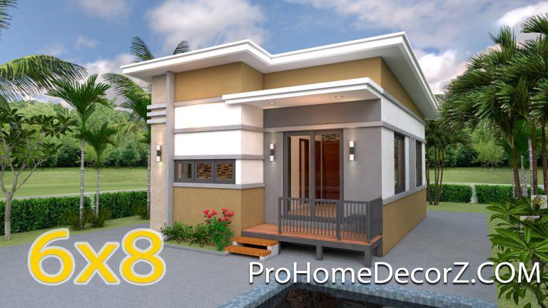 Small Modular Homes 6x8 Meter 20x26 Feet 2 Beds