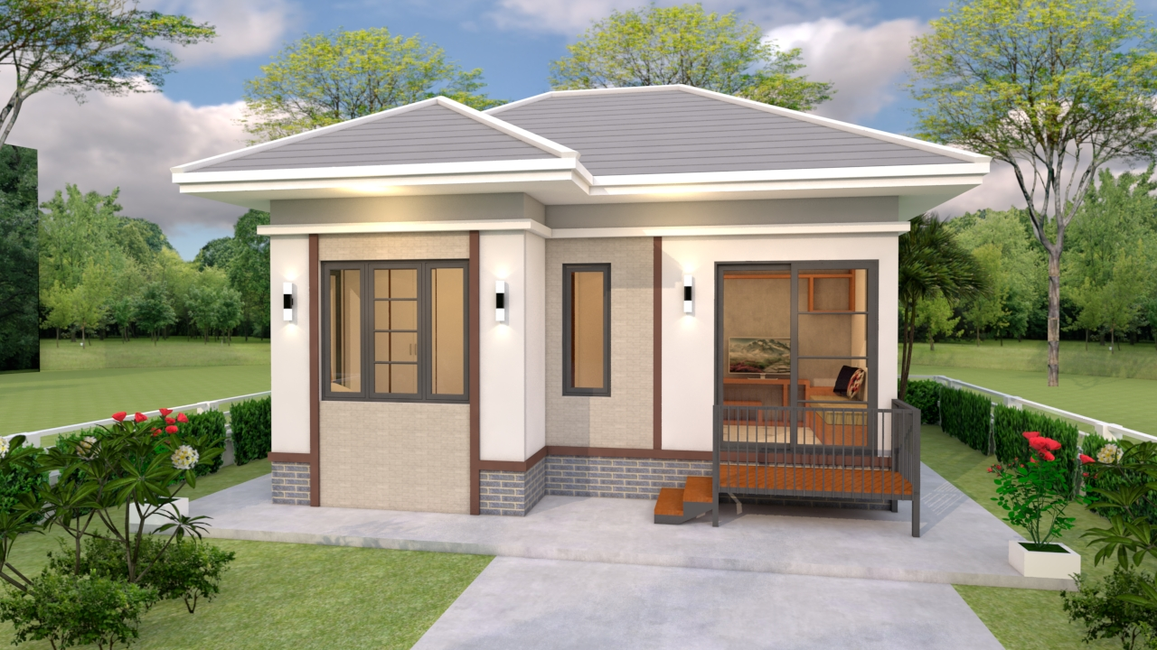 Tiny Home Living 7x6 Meter 23x20 Feet 1