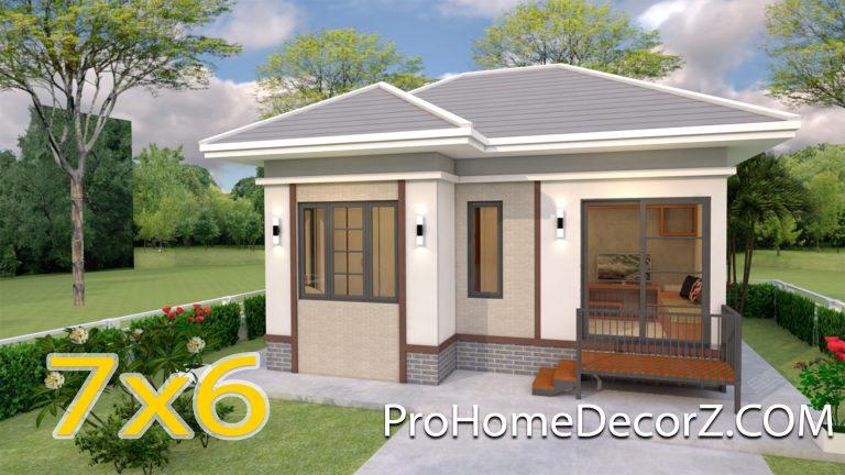 Tiny Home Living 7x6 Meter 23x20 Feet