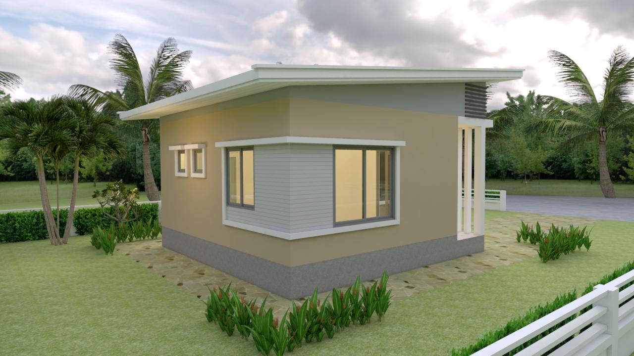 Back House Elevation