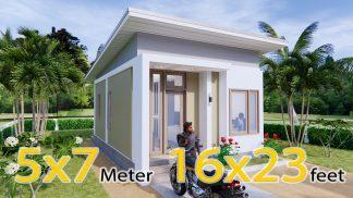 Design My House 5x7 Meters 16x23 Feet