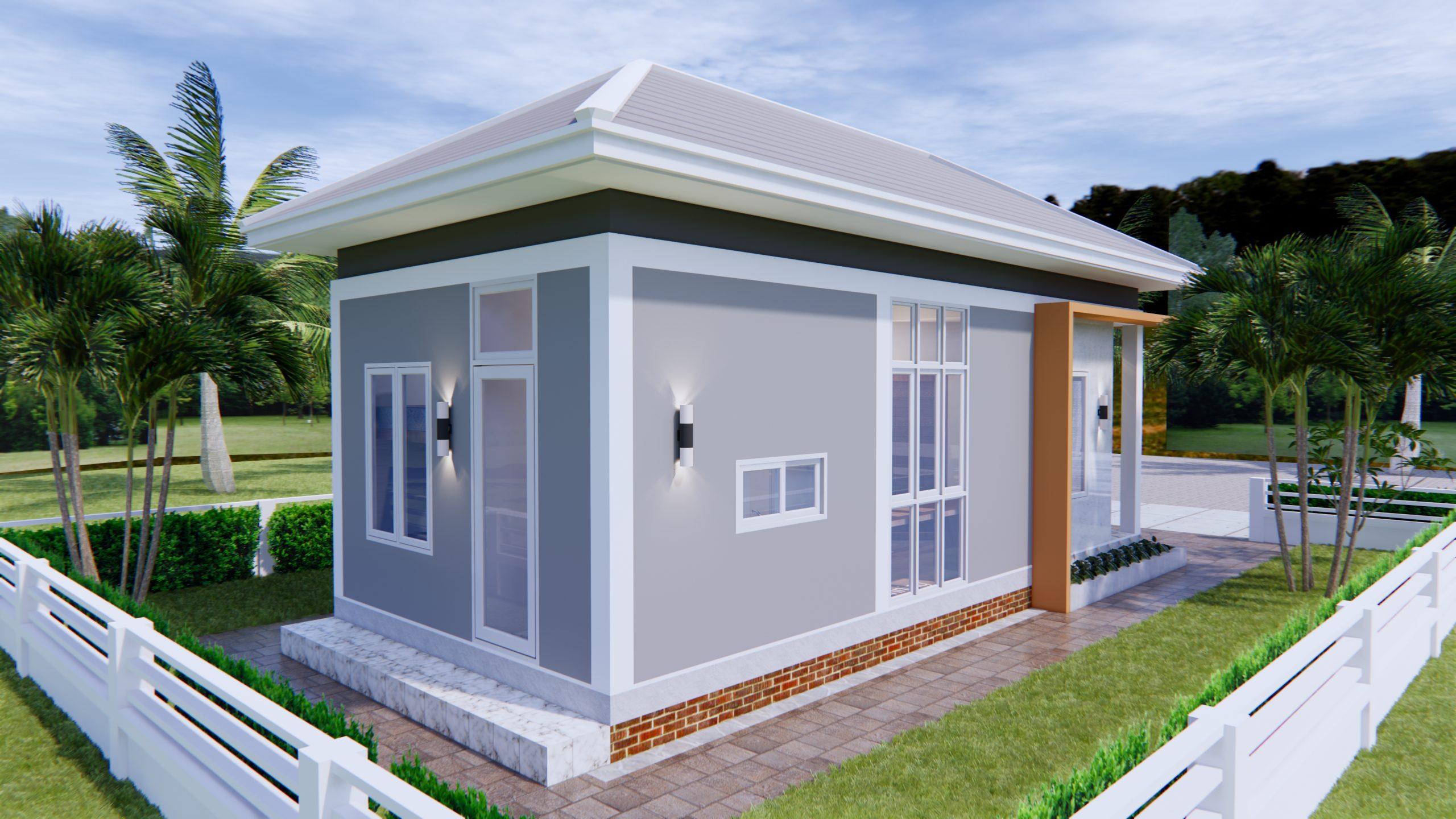 New Home Plans 4x9 Meter 13x30 Feet 3