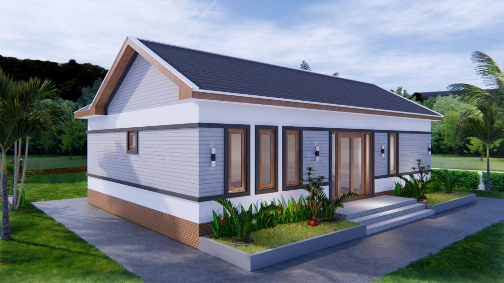 Luxury House Plans 12x8 Meters 40x26 Feet 3 Beds 6