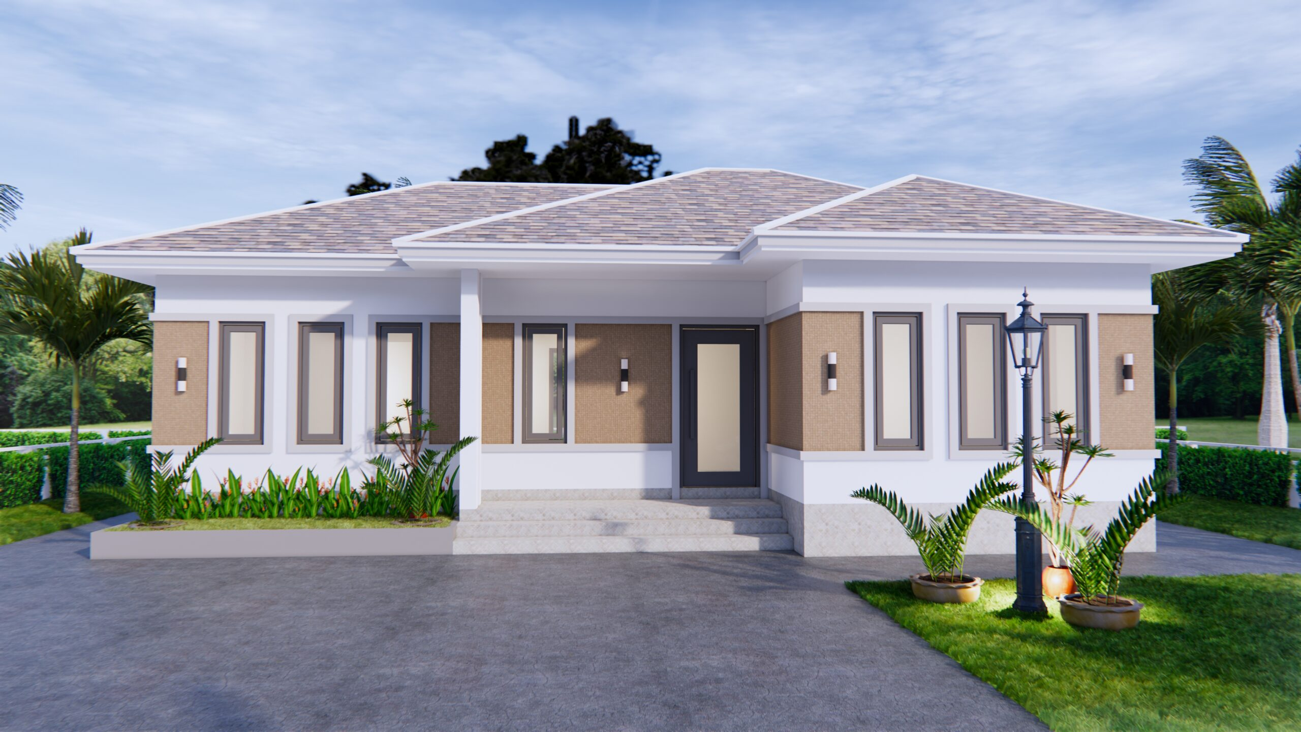 Modern Farmhouse Designs 12x8 Meters 40x26 Feet
