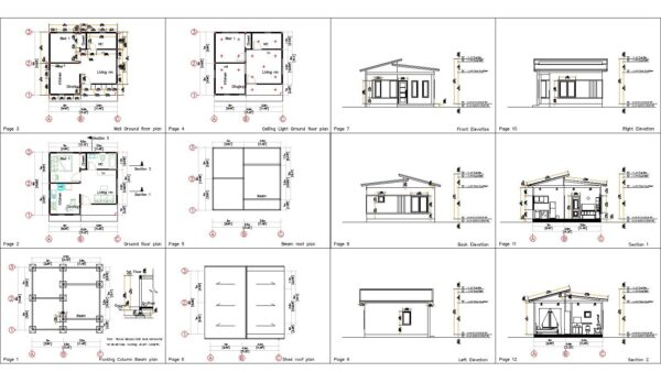 6.5x6 House plans you will have