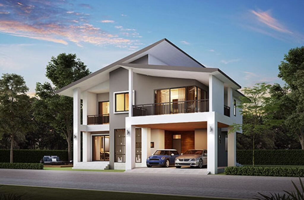 House Design Plot 17x18 with 4 Bedrooms