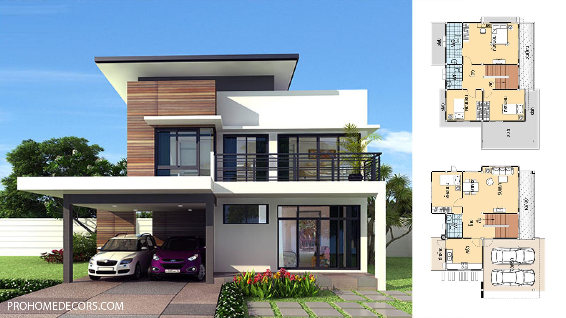 House Plans 11.5×9 with 4 Bedrooms