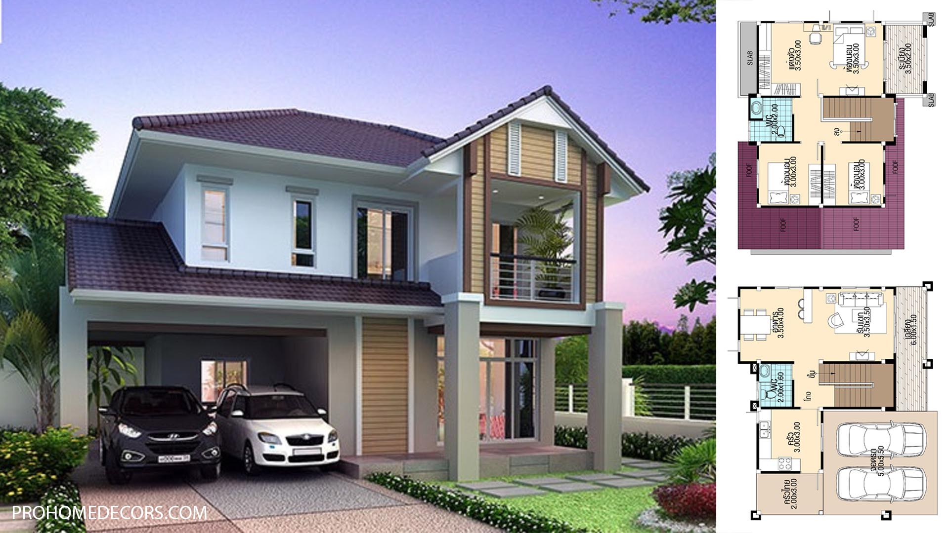 House Plans 11×9 with 3 bedrooms