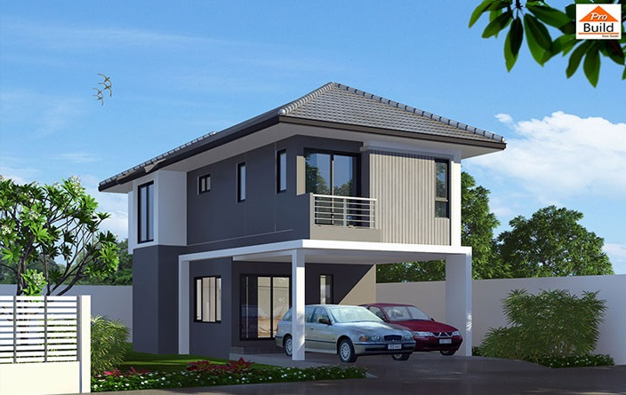 House Plans 5x12.3 with 3 Beds