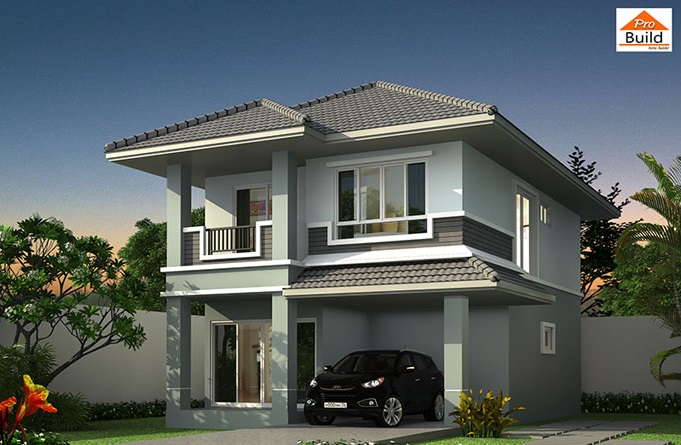 House Plans 6.5x11 with 4 Beds