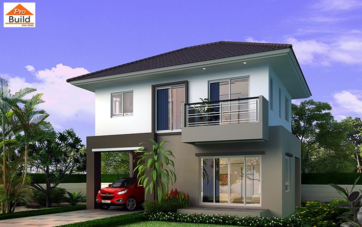 House Plans 8.2x6 with 3 Beds