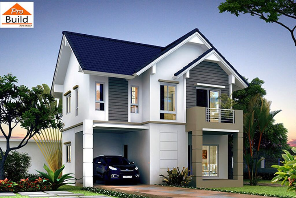 House Plans 9.2x8.5 with 3 Bedrooms