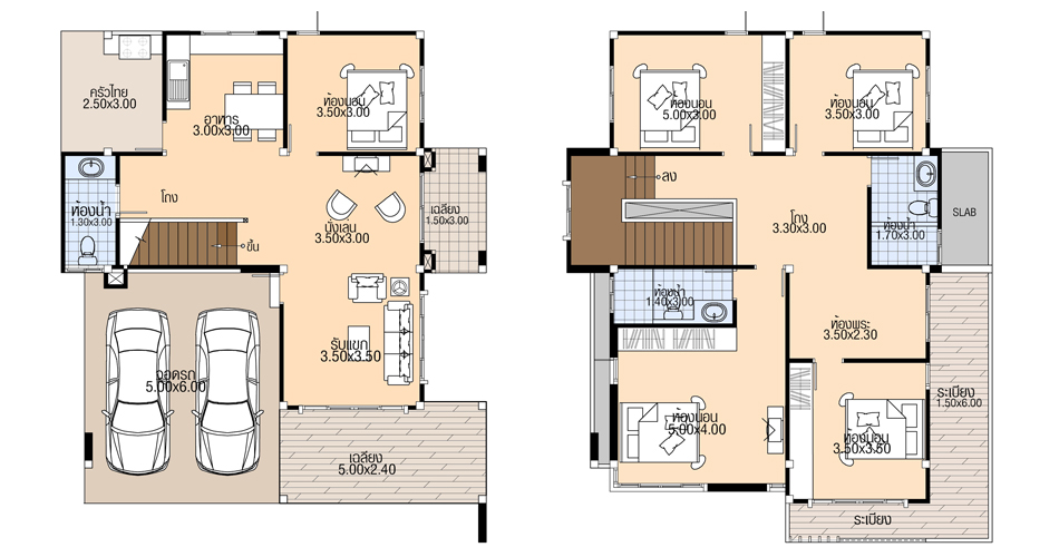 House-plans-10x11.8m-with-5-Beds-floor-plan