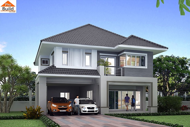 House plans 12.5x12 with 4 Beds