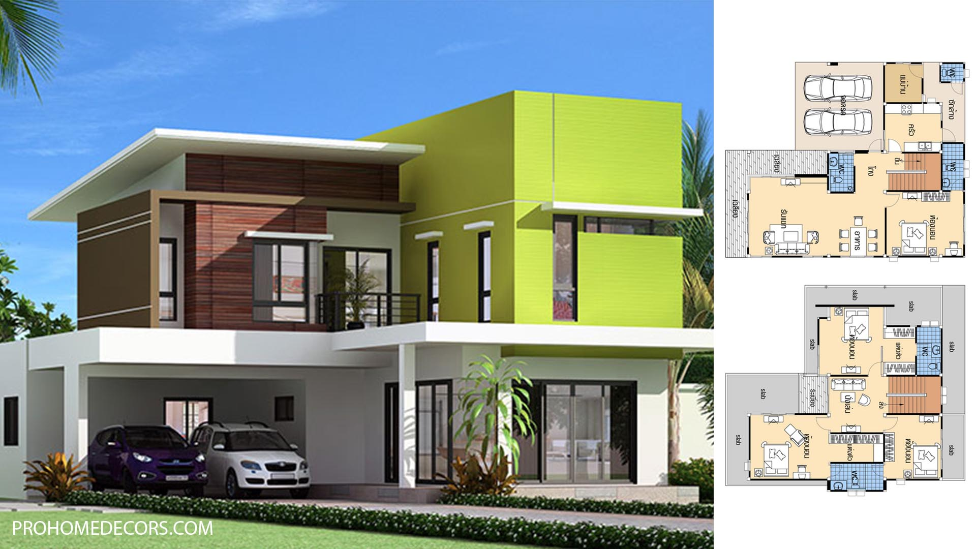 House plans 12×13.5 with 4 Beds