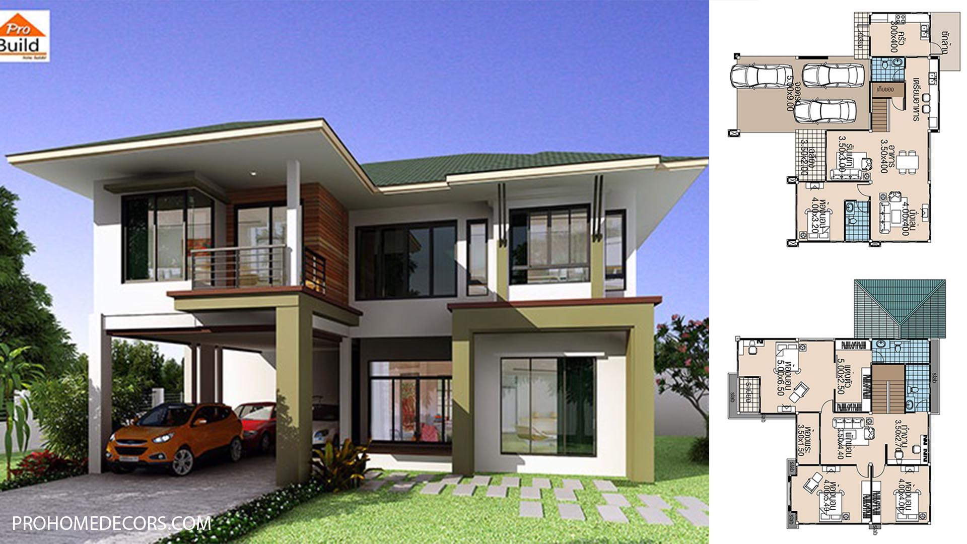 House plans 15.5×13 with 4 Beds