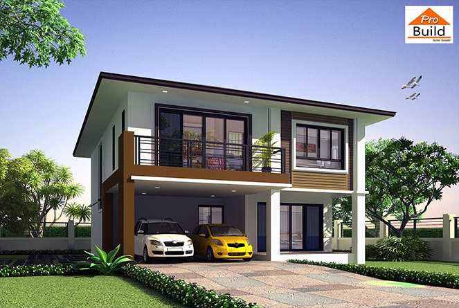 House Design plans 9x12 with 5 Beds 1