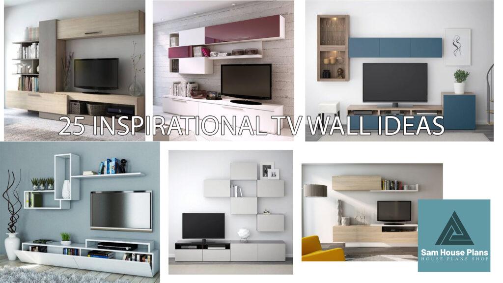 18 INSPIRATIONAL TV WALL IDEAS
